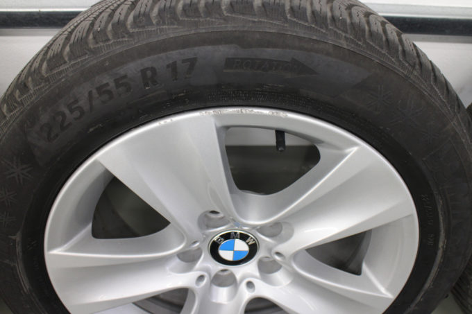 Premiumraeder BMW 5er F10 F11 6er F06 F12 F13 Winterraeder Styling 327 17 Zoll UXMB 004