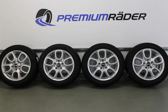 Premiumraeder MINI F55 F56 F57 Winterraeder Styling 494 16 Zoll RDCi FIPD 002