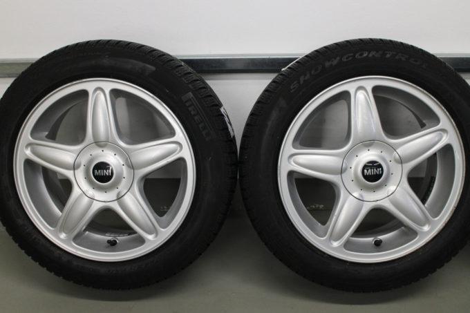 Premiumraeder MINI R50 R52 R53 R55 R56 R57 R58 R59 Winterraeder Styling R103 16 Zoll JJSW 003