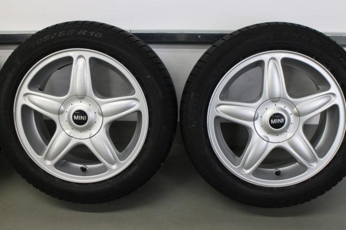 Premiumraeder MINI R50 R52 R53 R55 R56 R57 R58 R59 Winterraeder Styling R103 16 Zoll JJSW 006